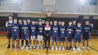 世界に通用する選手を育成するU15を、元バスケ少年の小野賢章が取材リポート!