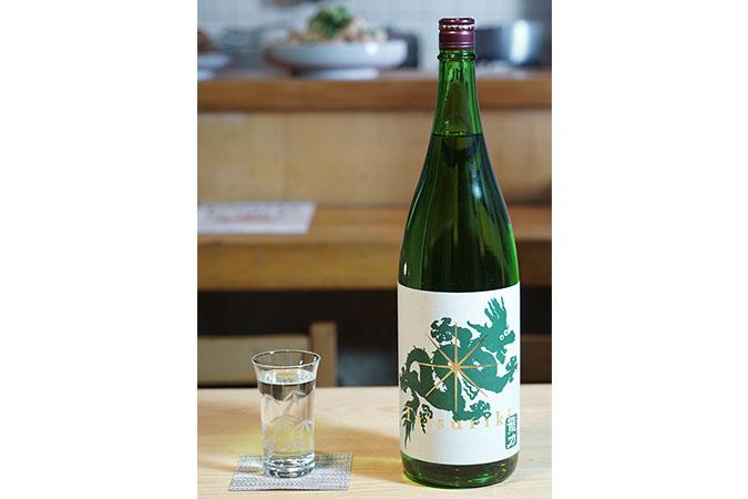 第8話 龍力 純米酒ドラゴン緑