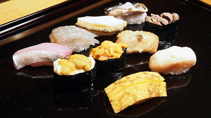 第8話 蔵前 幸鮓 「海胆 シャンパンと楽しむ夏の寿司」