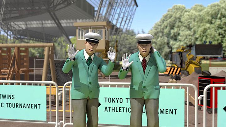 東京ふたごアスレチックのメインビジュアル