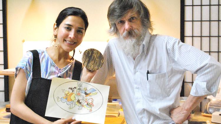 サヘルが「東京」のイチオシを発掘!カナダ人職人によって浅草で生み出される江戸木版画の魅力に迫ります!のサムネイル