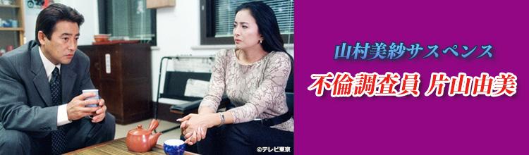山村美紗サスペンス「不倫調査員 片山由美」メインビジュアル
