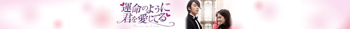 韓国ドラマ「運命のように君を愛してる」メインビジュアル