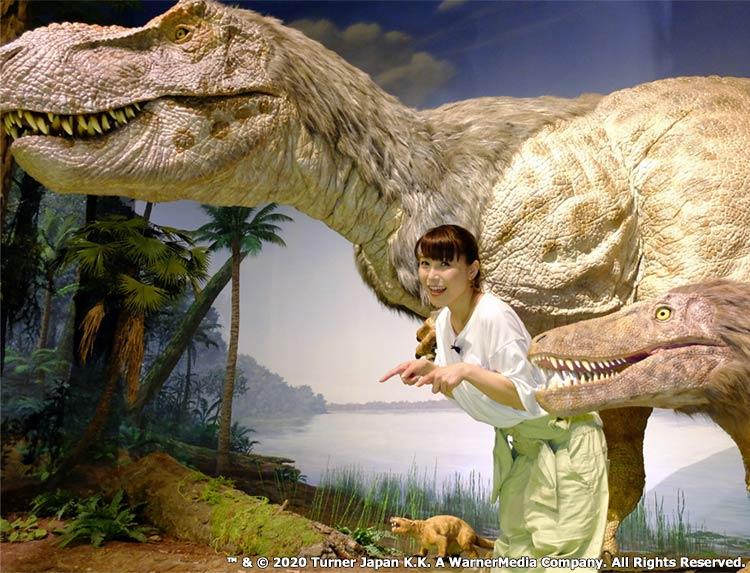 新田恵海の恐竜DEEPのメインビジュアル