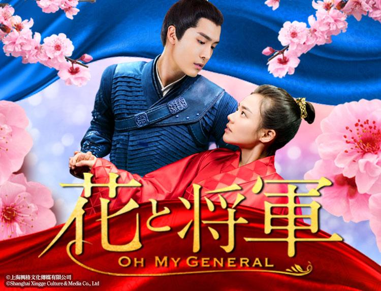 中国ドラマ「花と将軍~OH MY GENERAL~」のメインビジュアル