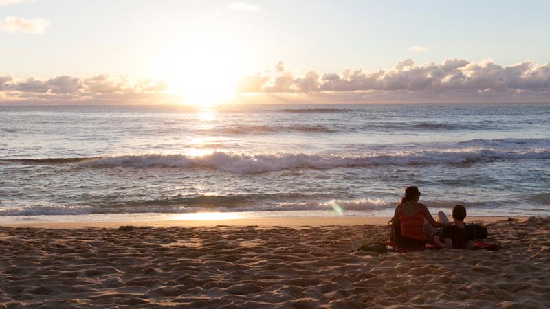 その名に恥じない一生モノの美しさ! サンセット・ビーチ/Sunset Beach
