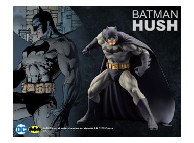 ARTFX+バットマン HUSH(発売元:KOTOBUKIYA)