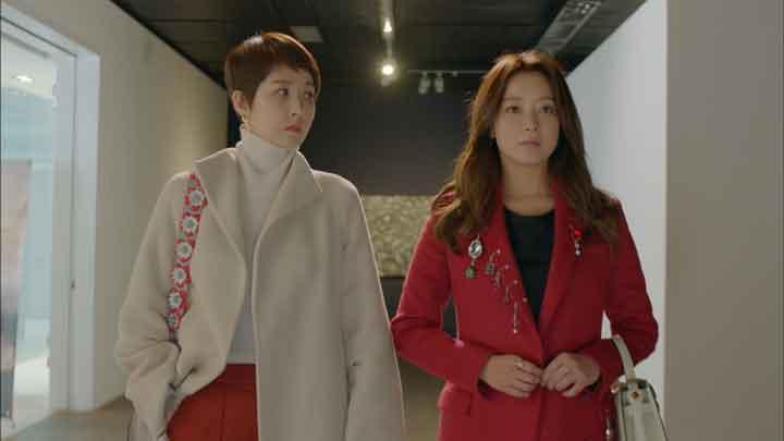 韓国ドラマ「品位のある彼女」 の第12話「戦争の序幕」