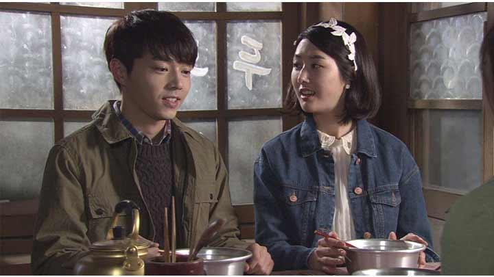 韓国ドラマ「私の心は花の雨」第12話