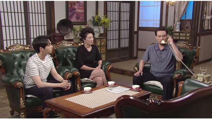 韓国ドラマ「私の心は花の雨」第43話
