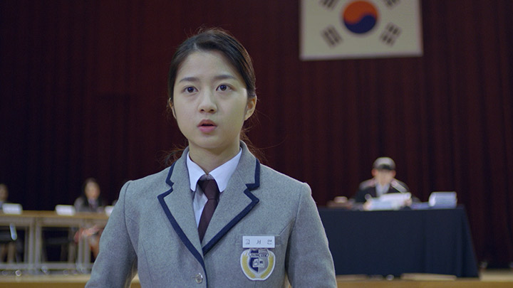 韓国ドラマ「ソロモンの偽証」の第7話「開廷」