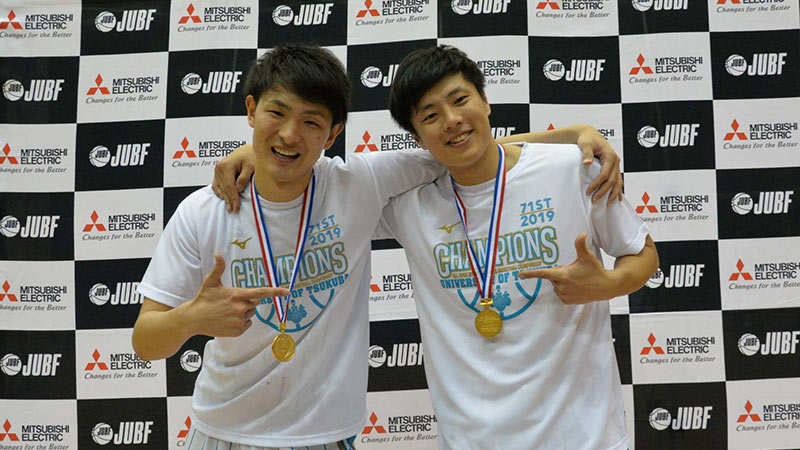 高校、大学と7年にわたり苦楽を共にしてきた増田啓介(左)とはライバルになる。「相手にいたら相当厄介だと思う。これからも刺激を与えあってがんばりあえる間柄でいたい」と話してくれた
