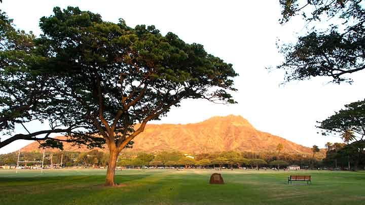 ハワイのシンボル!ダイヤモンドヘッド