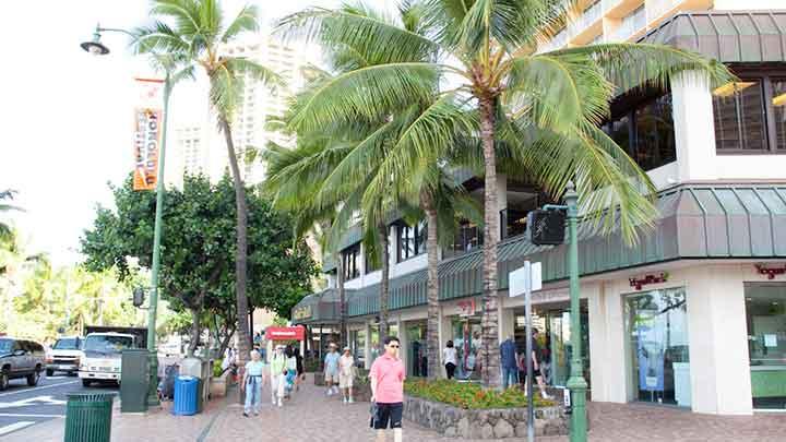 比較的安定した治安は、ハワイの魅力