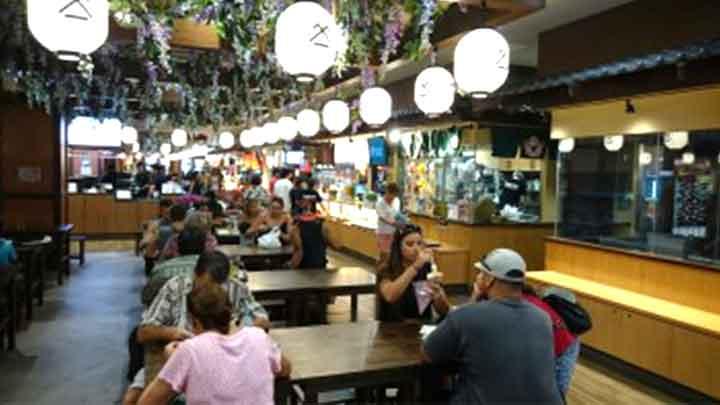 日本食ならここ! シロキヤ・ジャパン・ビレッジ・ウォーク