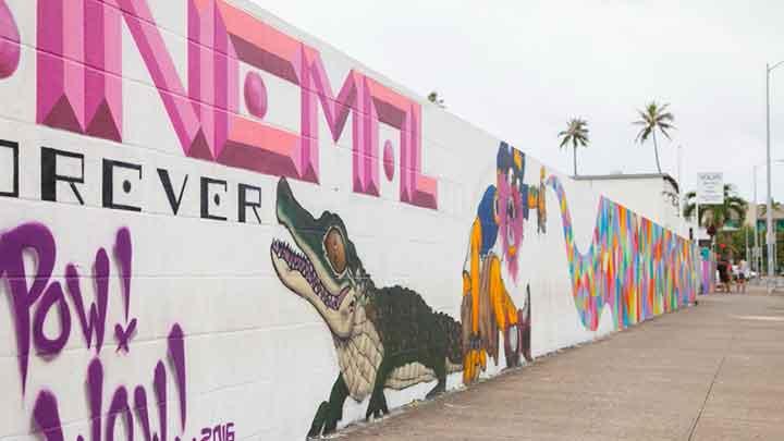 どの通りを歩いてもフォトジェニック! ウォールアート Wall Art(Mural)