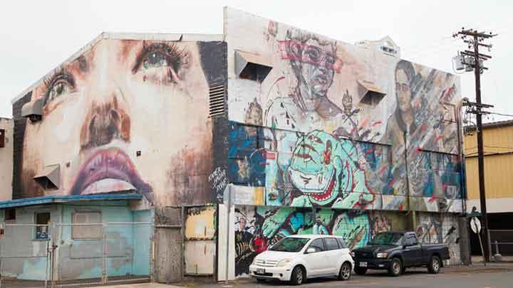 ウォールアート/Wall Art(Mural)