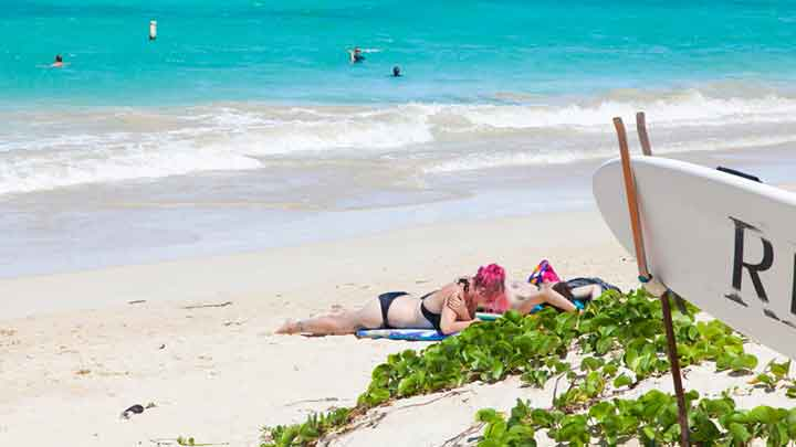 全米No.1に輝いた美しいビーチ