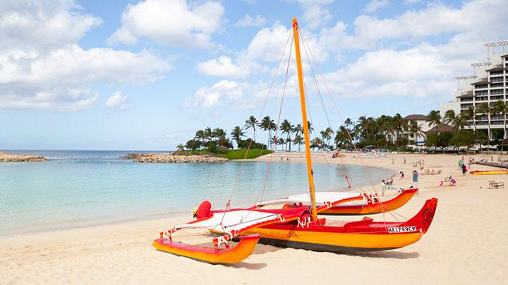 オアフ島の西海岸リゾート コオリナに出かけてみよう
