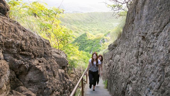 ダイヤモンドヘッド・トレイル Diamond Head Trail