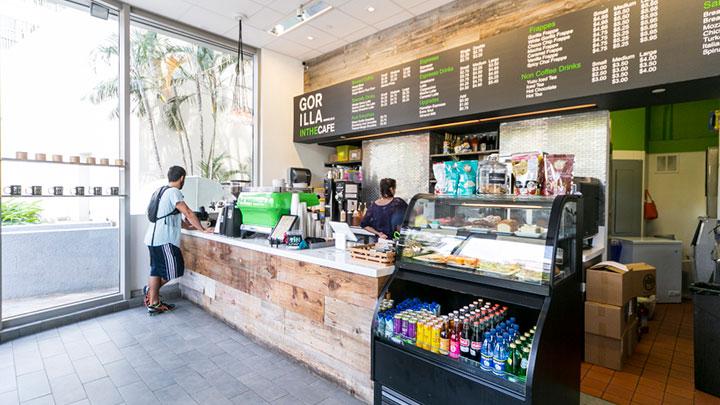 ほどよい甘さで後味さっぱり!SNS映えもおまかせ ゴリラ・イン・ザ・カフェ/GORILLA IN THE CAFE