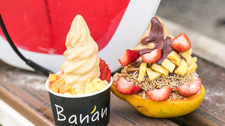 ナチュラルでおいしい進化型アイスクリームを食べよう