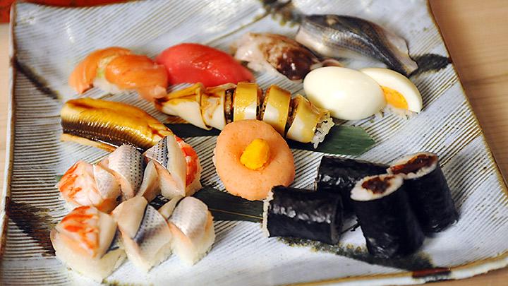 第2話 人形町 㐂寿司「飾り寿司 受け継がれる伝統」