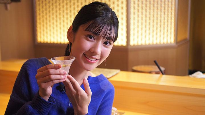 西麻布の「鮨 麻葉」でおつまみと日本酒を楽しみます!