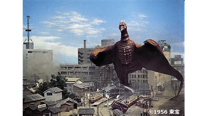 空の大怪獣 ラドンのメインビジュアル