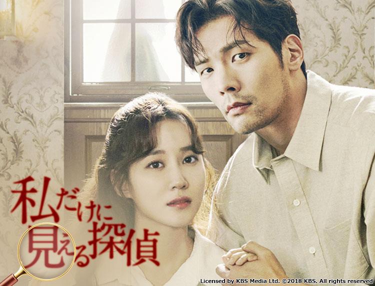 韓国ドラマ「私だけに見える探偵」のトップイメージ