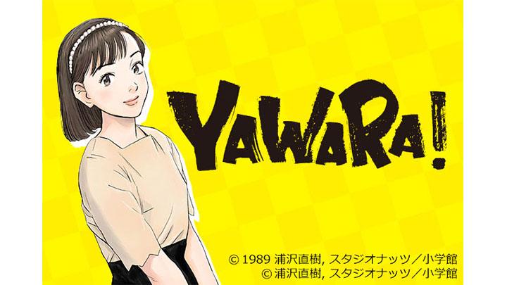 YAWARA!<HDリマスター版>のメインビジュアル